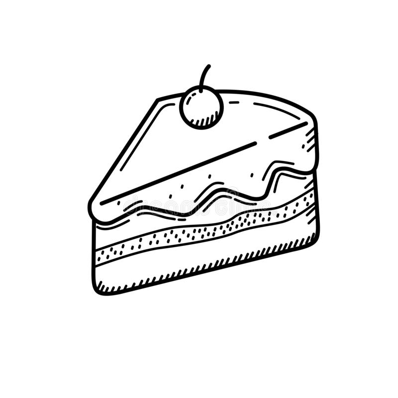 Cake Slices Clipart | Free download on ClipArtMag  |Cake Slice Clipart Black And White
