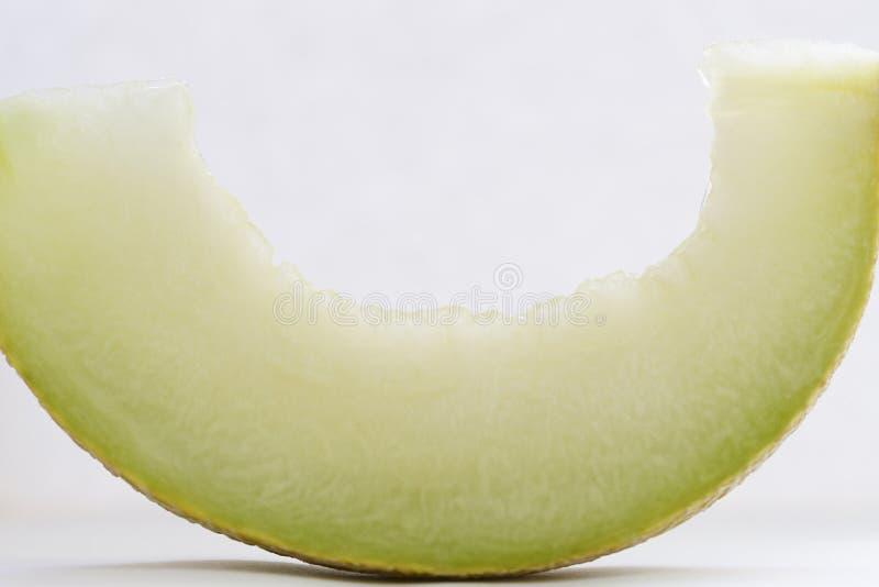 Slice of a cantaloupe royalty free stock photos