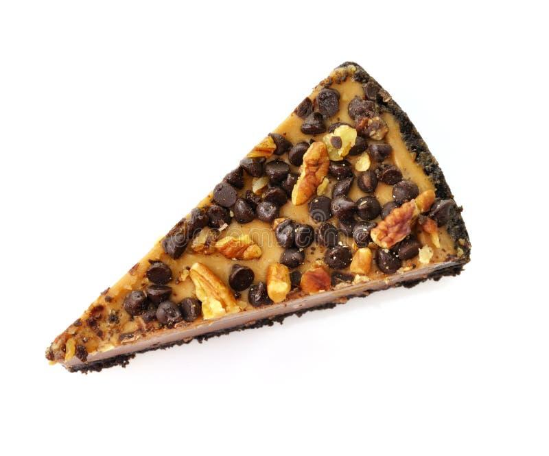 Slice of cheesecake royalty free stock image