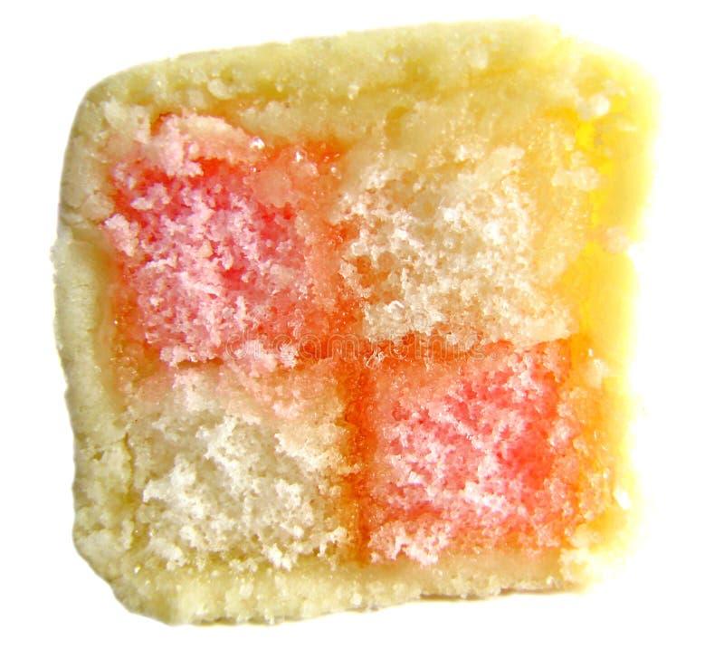 Download Slice Of Delicious Battenberg Cake Stock Photo - Image: 18261010