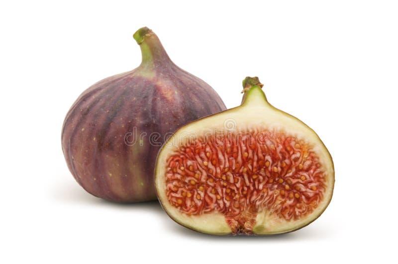 Slice fig stock photos