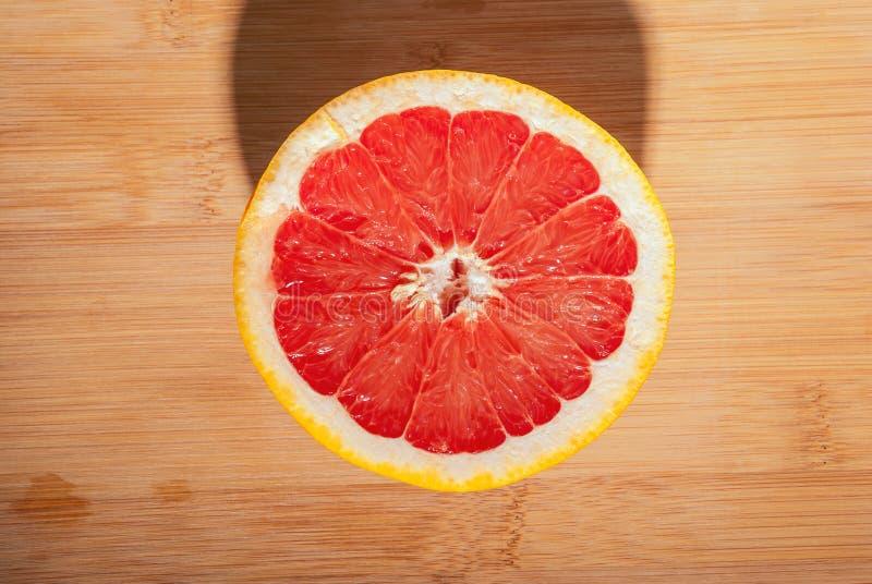 Slice grapefruit royalty free stock image