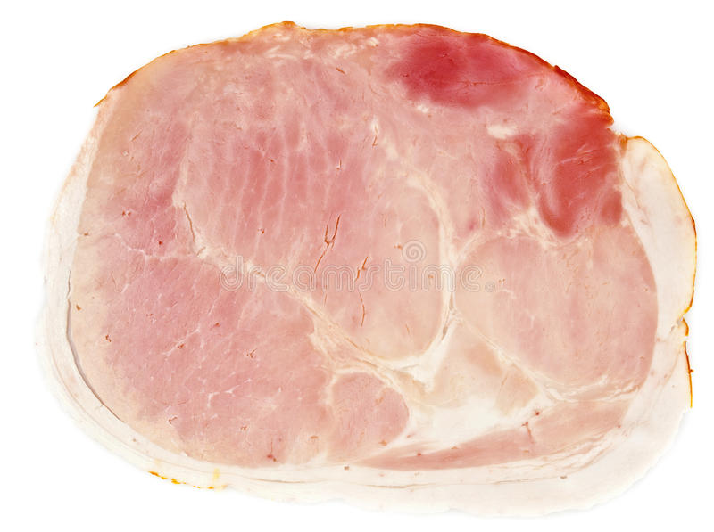 Download Slice of ham stock image. Image of cooking, nutritious - 22797331