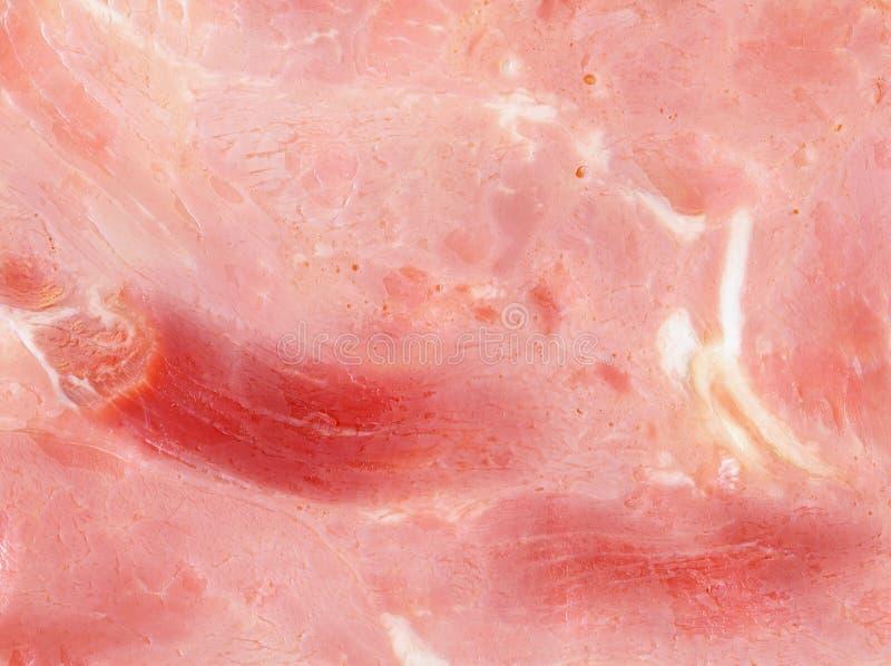 Slice of ham texture. A slice of ham texture stock photos