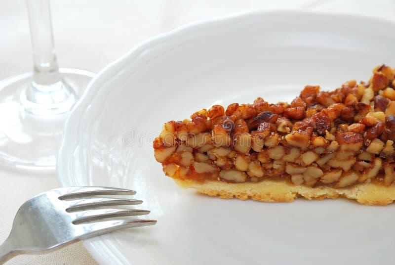 Download Slice Of Hazel Nut Tart Or Cake Stock Photo - Image of closeup, delicious: 14274094