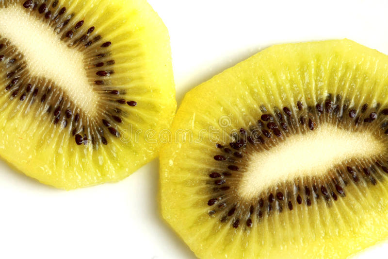Download Slice of kiwi fruits stock photo. Image of fruit, macro - 22663432