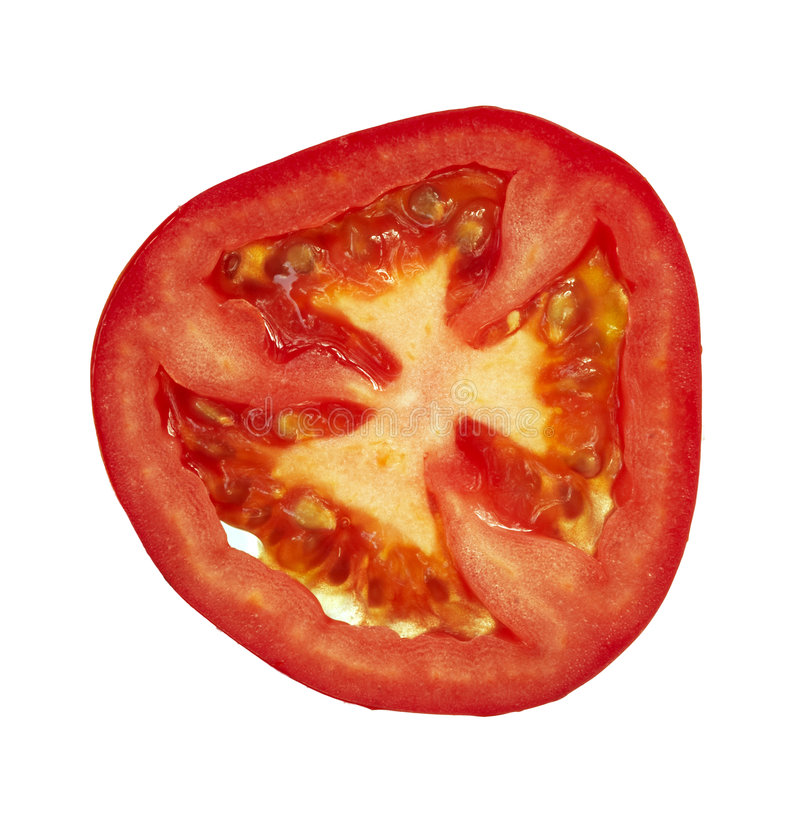Free Slice Of The Tomato - Isolated Stock Images - 7406944