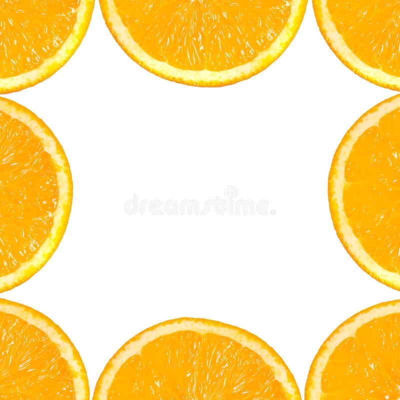 Slice of orange. stock photo