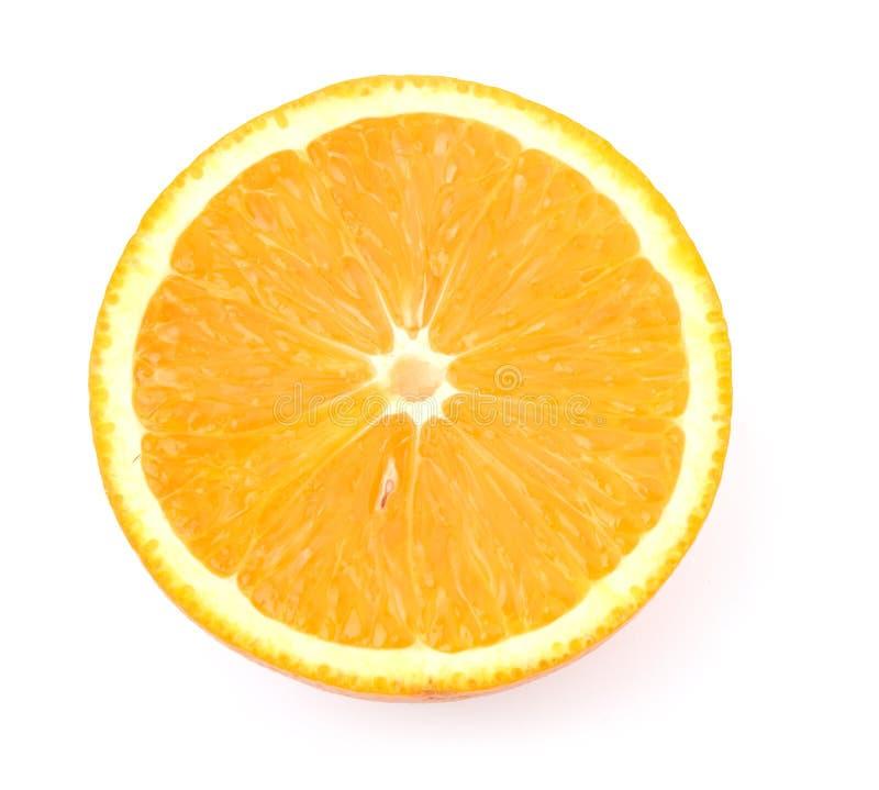 Slice of orange stock images