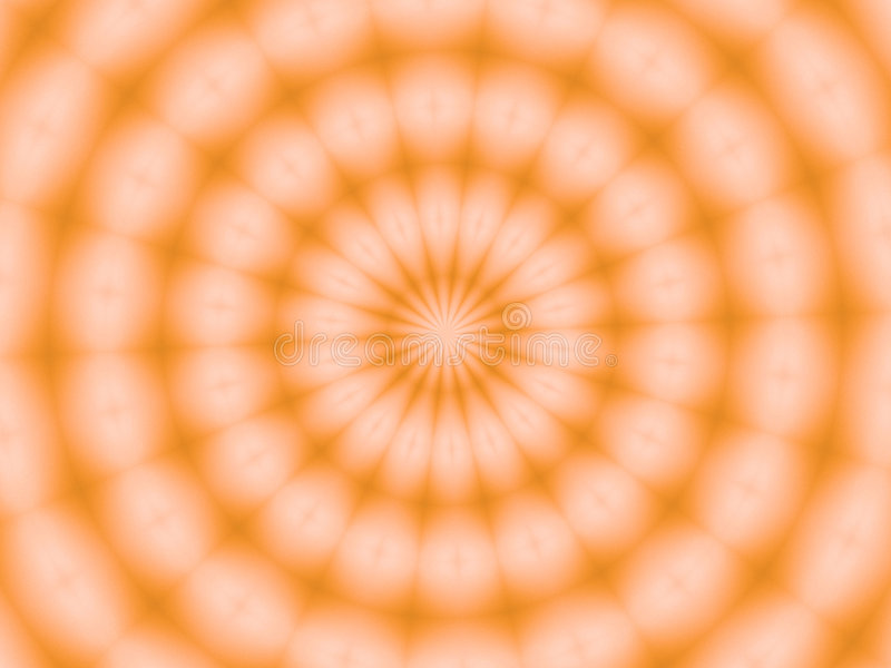A slice of orange stock illustration