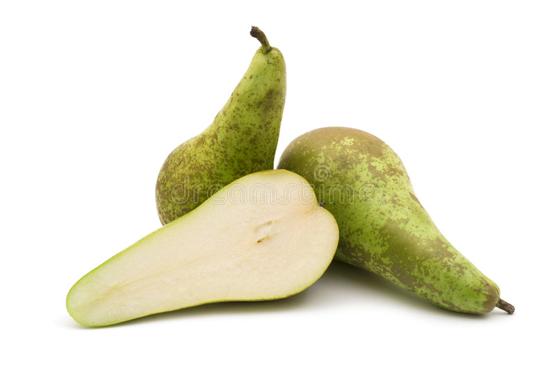 Slice pear royalty free stock photography