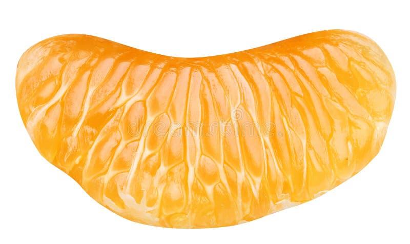 Slice of tangerine. royalty free stock photography