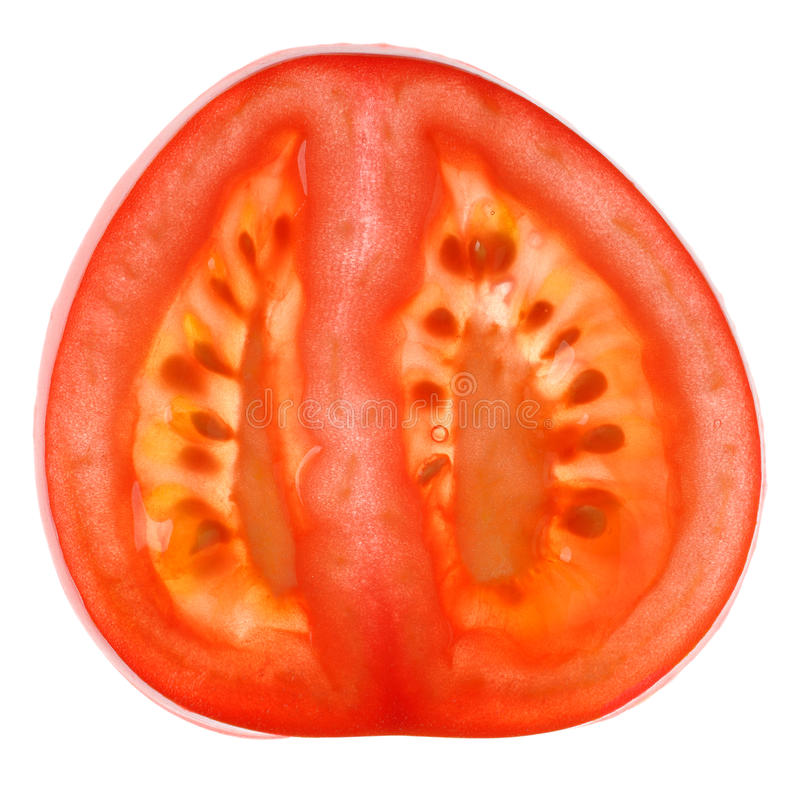 Slice Of Tomato Royalty Free Stock Images