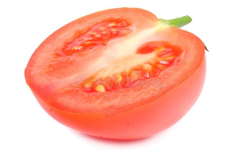 slice of tomato isolated on white background stock photos