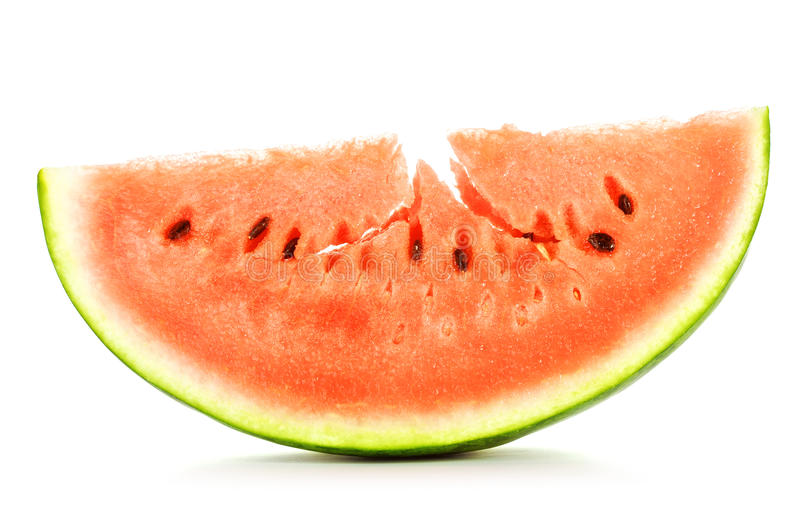 Download Slice of Watermelon stock image. Image of fruit, photo - 25928479