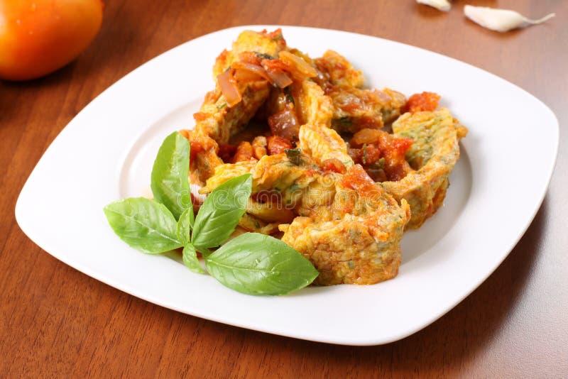 Download Sliced omelette stock image. Image of sliced, restaurant - 21590347