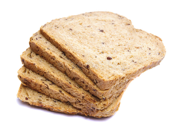 Download Sliced bread stock photo. Image of nutrition, crust, whole - 17348540
