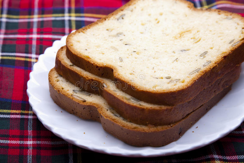 Download Sliced breads stock image. Image of wheat, plate, toast - 22675487
