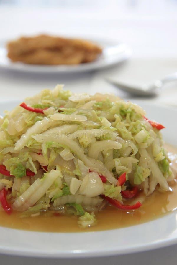 Sliced Cabbage Stock Photo