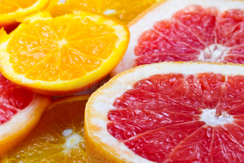 Download Sliced citrus fruits stock image. Image of groceries - 25128079