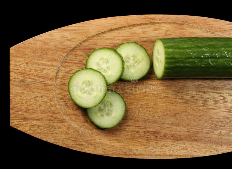Download Sliced cucumber stock photo. Image of healthy, isolated - 19111298