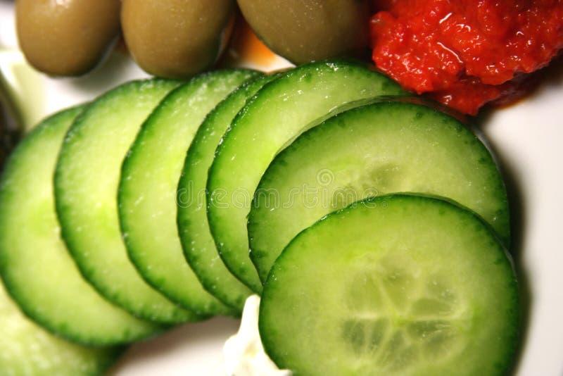 Free Sliced Cucumber Stock Photo - 477740