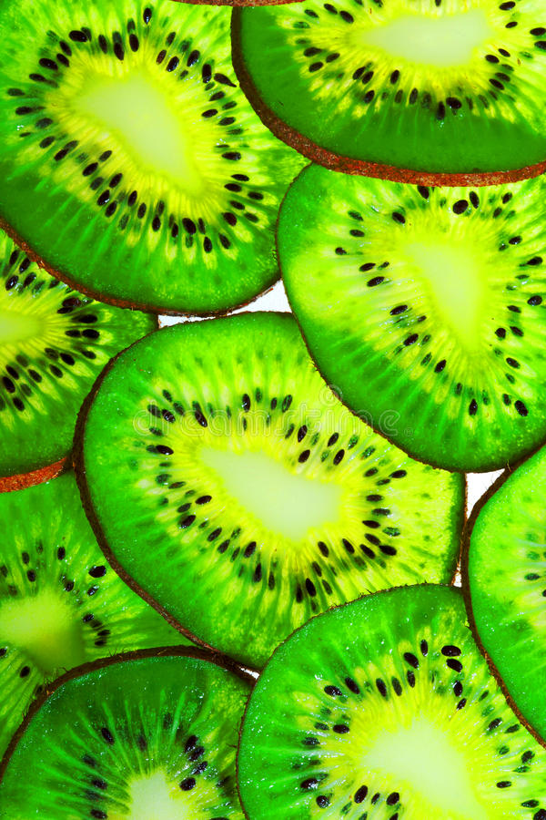 Download Sliced kiwi stock image. Image of organic, natural, isolated - 27495309