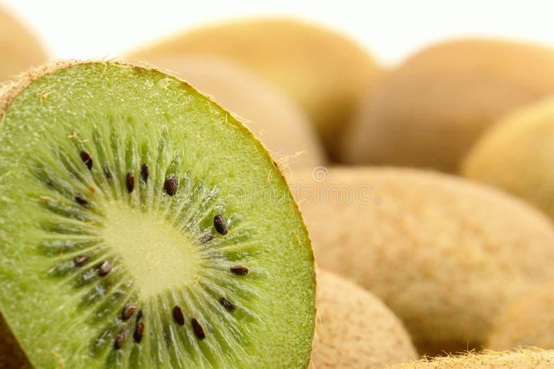 Sliced Kiwi Fruit. Closeup Photo stock image