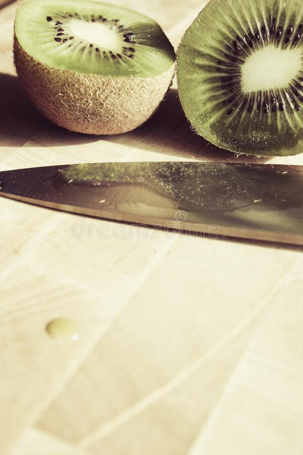 Sliced Kiwi Fruit Near Knife Free Public Domain Cc0 Image