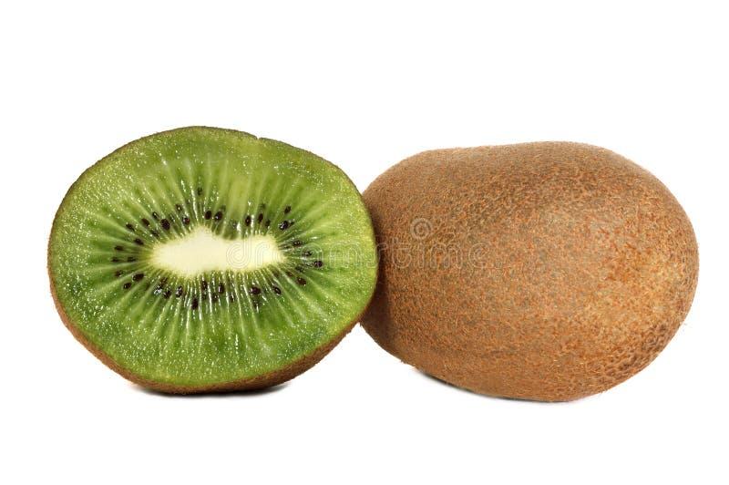 Sliced kiwi fruits royalty free stock photos