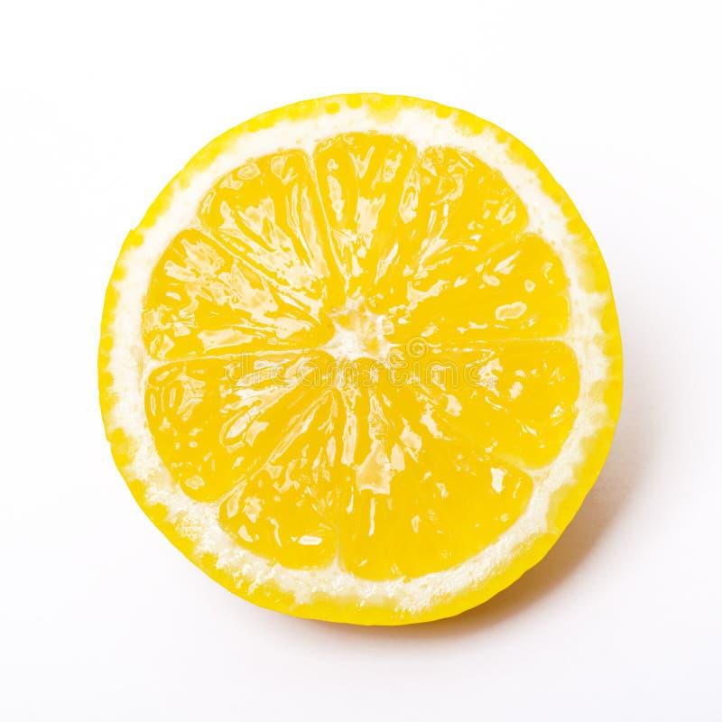 Sliced Lemon Royalty Free Stock Image
