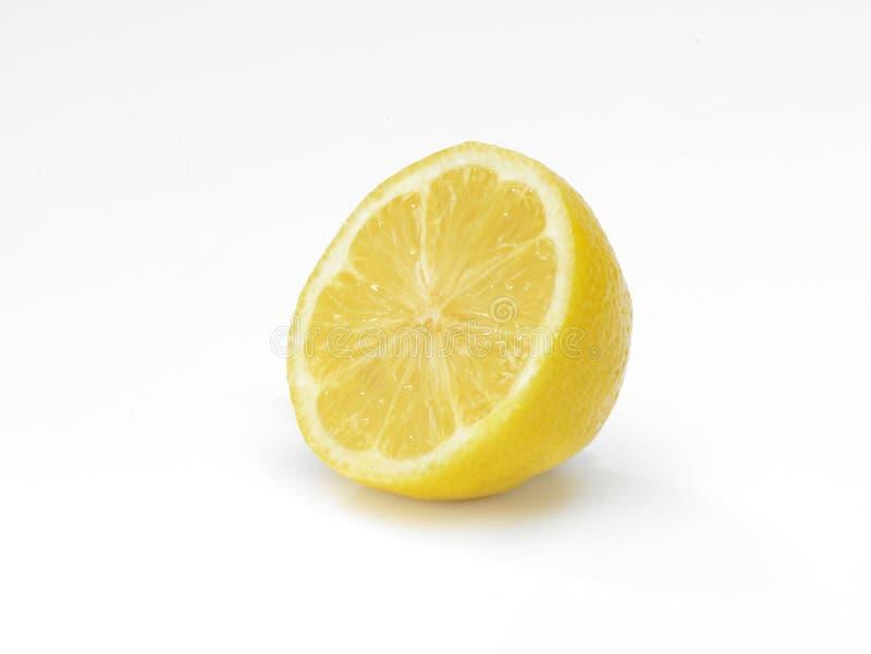 Sliced Lemon stock image