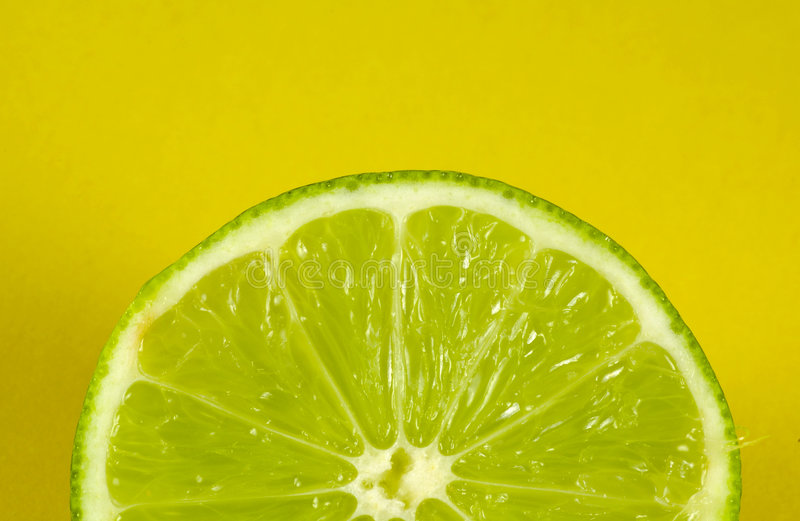 Sliced Lime royalty free stock photo