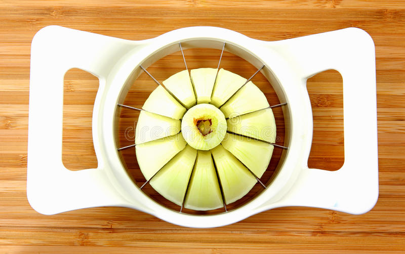 Download Sliced Onion stock image. Image of board, center, overhead - 22418181