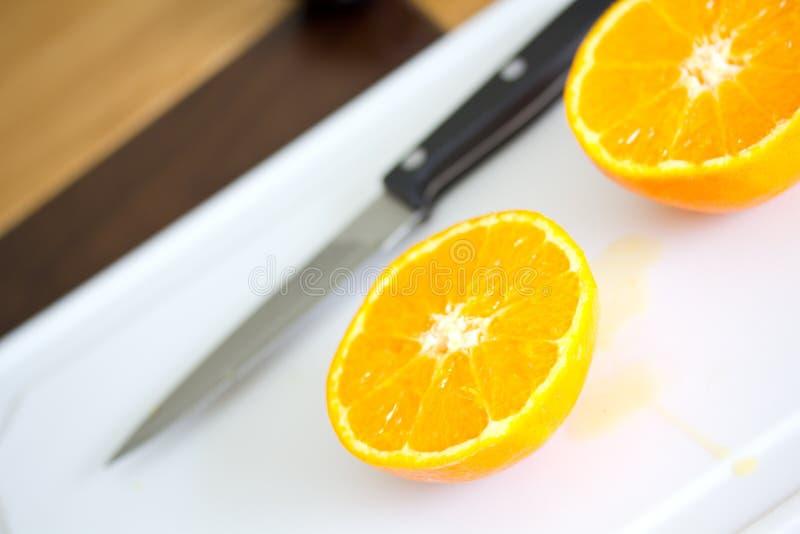 Download Sliced Orange stock photo. Image of nature, organic, knife - 24594268