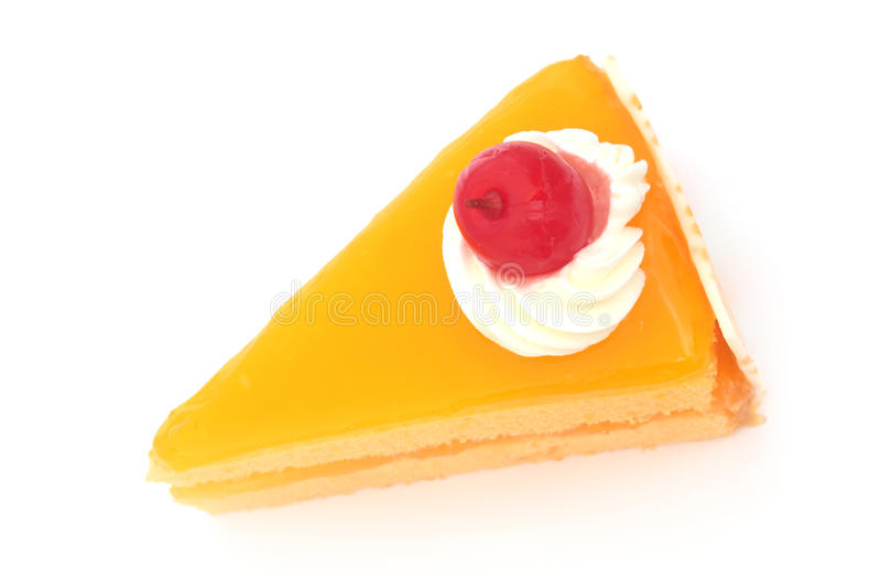 Download Sliced Orange Cake Stock Photography - Image: 31344042