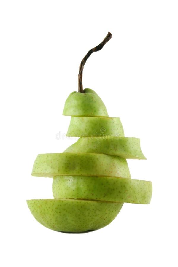 Download Sliced Pear stock image. Image of natural, eating, freshness - 3353871