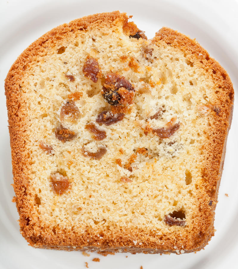 Download Sliced Piece Of Cake With Raisin Royalty Free Stock Images - Image: 26467529