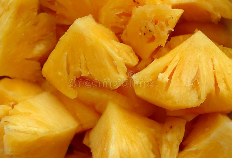 Sliced pineapple background royalty free stock photos