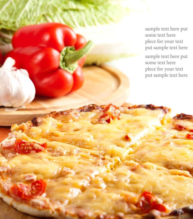 Download Sliced Pizza Stock Image - Image: 23153931