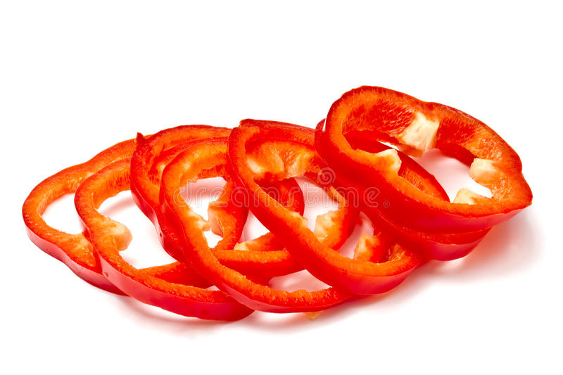 Download Sliced red pepper stock photo. Image of eating, background - 18473162