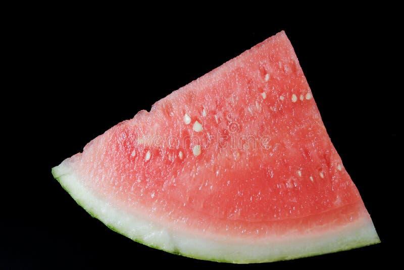Sliced ripe watermelon stock photography
