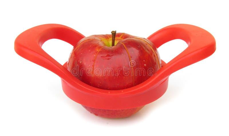 Slicer de Apple fotografia de stock royalty free