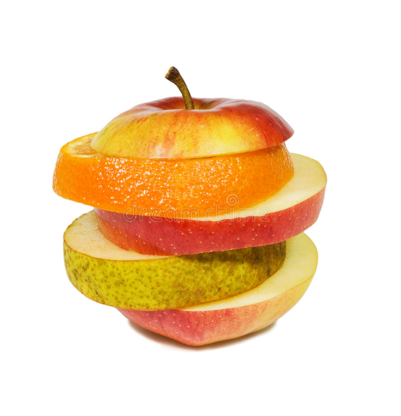 Free Slices Fruits Royalty Free Stock Images - 14016379