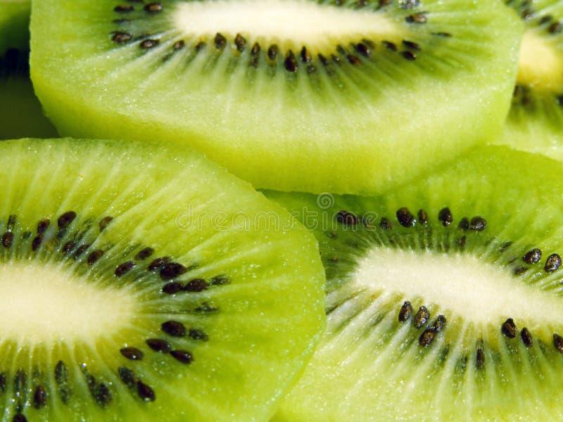 Slices of kiwi fruit royalty free stock photo