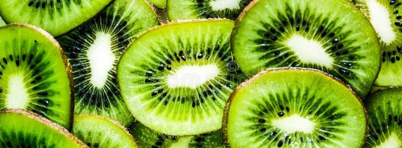 The slices of the Kiwi fruits. Fresh of the slices Kiwi fruits royalty free stock photography