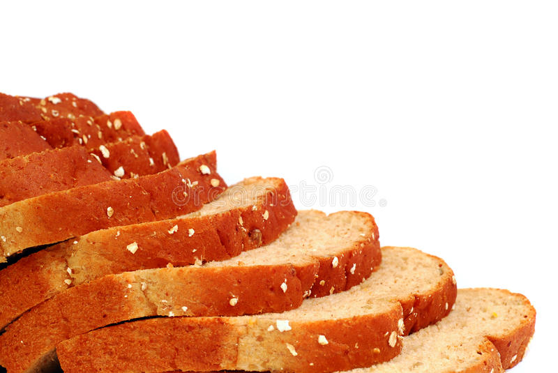 Slices Of Multi-grained Bread Stock Photography