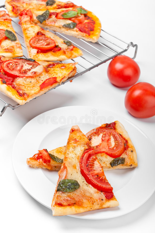 Download Slices of pizza stock image. Image of closeup, background - 7790863