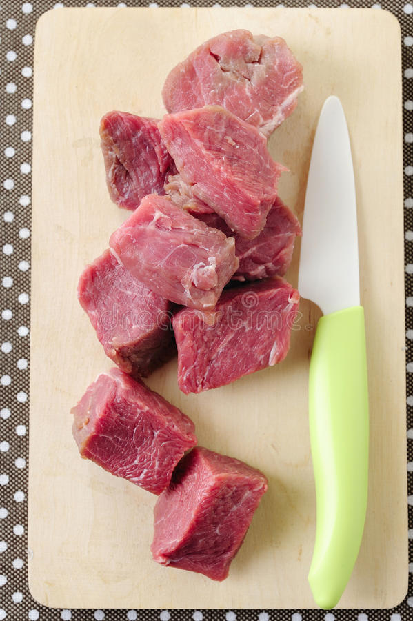 Download Slices Of Raw Fresh Beef Meat Stock Image - Image: 23804331