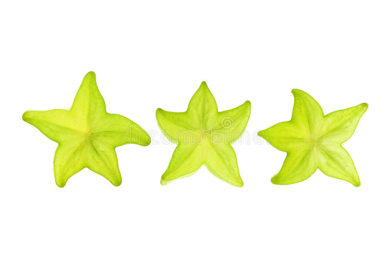 Download Slices of Star Fruit stock photo. Image of isolated, nutrient - 26478950